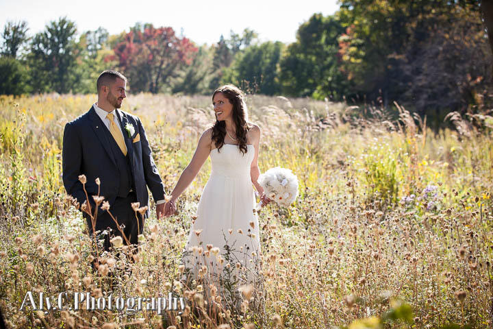 September wedding at Patterson's Fruit Farm