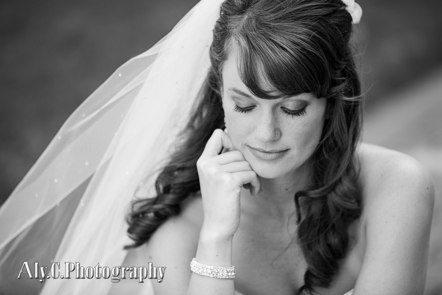 bride in thought