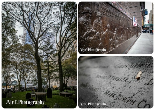 NYC memorials